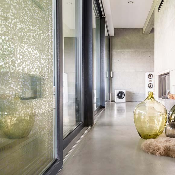 Floral Dessin Architektur Raumgestaltung Innenarchitektur - Bischoff Interior AG